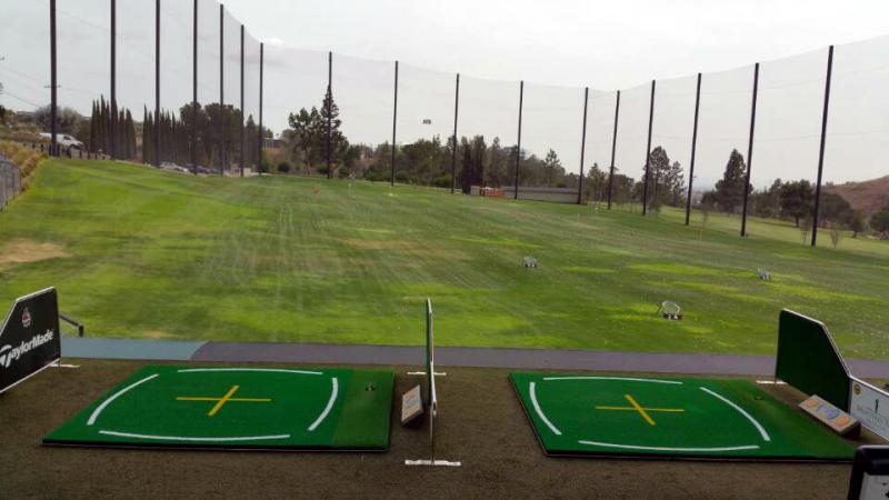 practice golf driving range mats systems automation